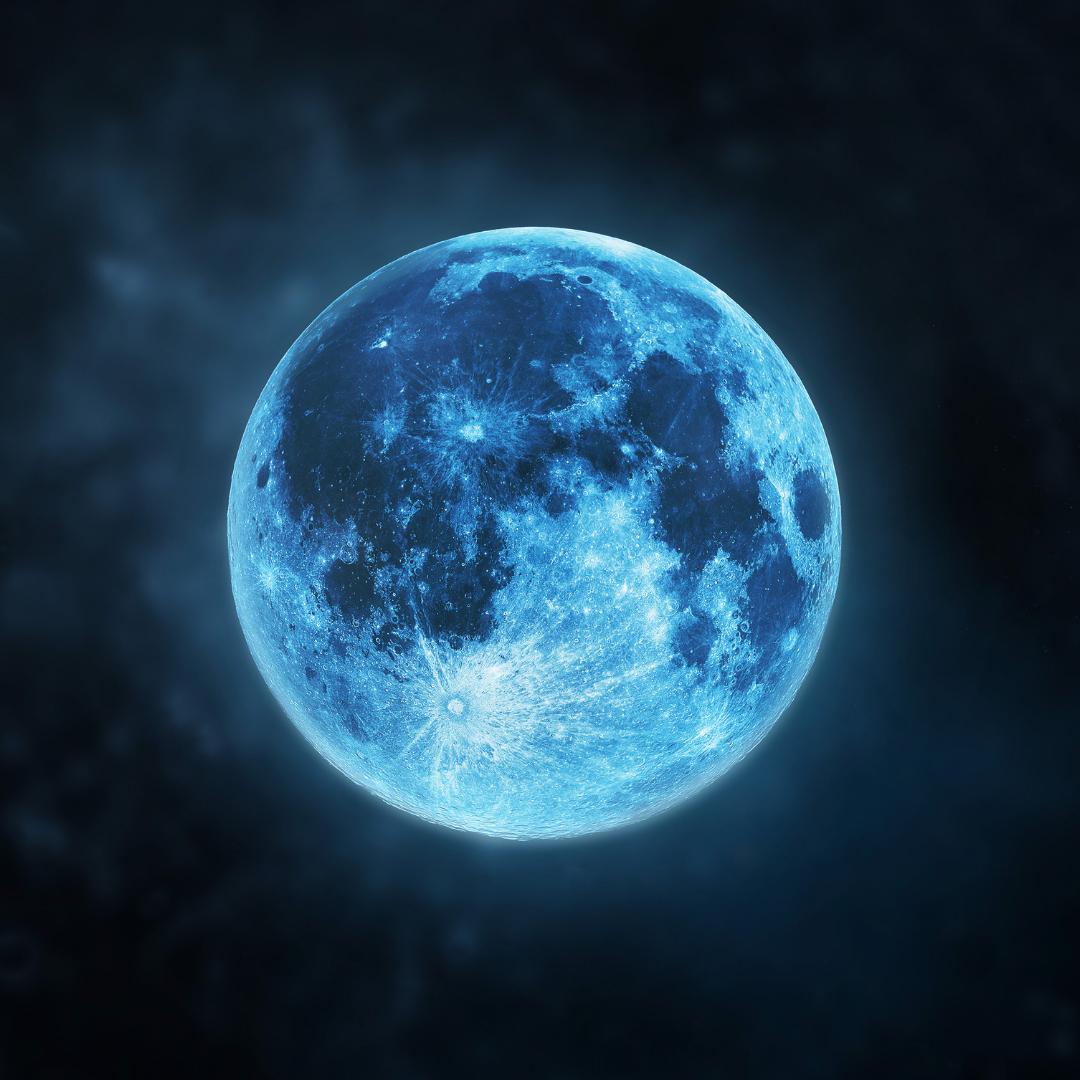 August Full Moon in Aquarius: A Seasonal Blue Moon?